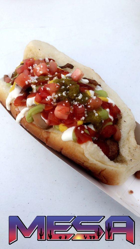 La Familia Hot Dogs: 1441 E Broadway Rd, Mesa, AZ
