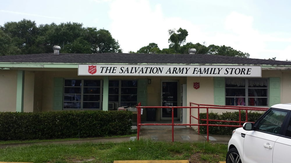 The Salvation Army Thrift Store Last Updated June 2017 Thrift Stores 505 27th Ave Sw Vero