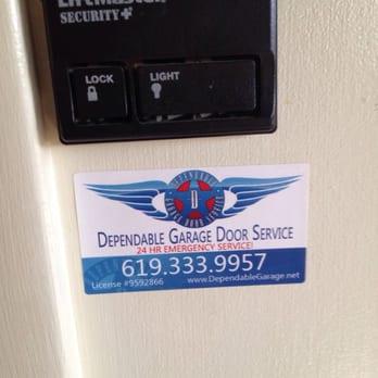 Photo Of Dependable Garage Door Service   La Mesa, CA, United States. Here