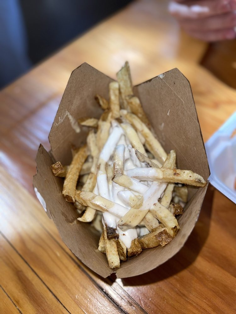 Food from J Fry Dirty Fries