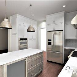Photo Of Bath Plus Kitchen Design Remodel   Alexandria, VA, United States.  Custom