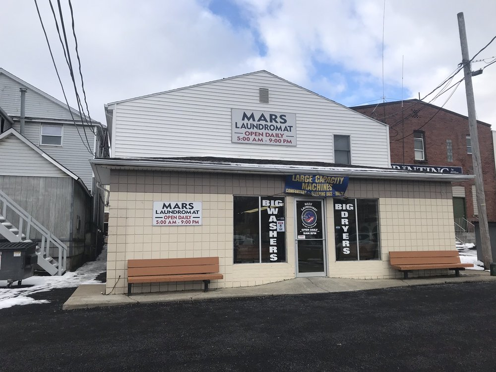 Mars Laundromat: 135 Grand Ave, Mars, PA