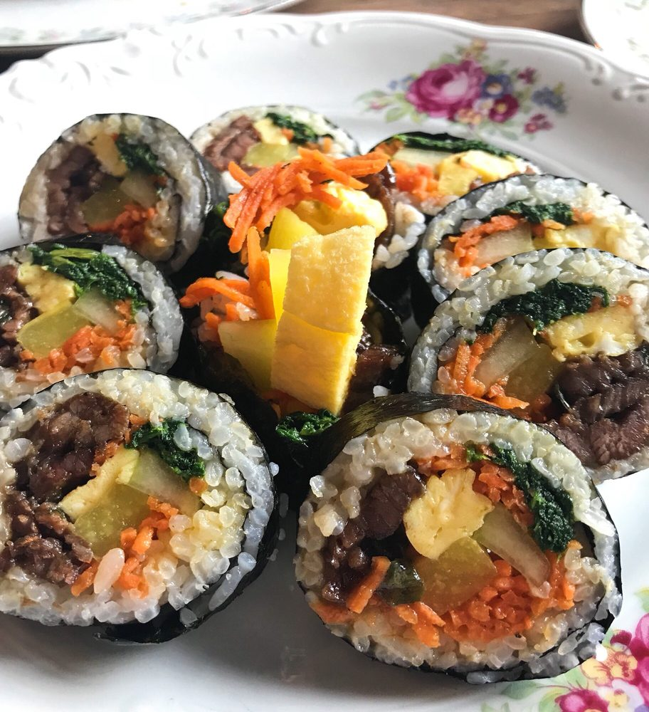 Food from Soju