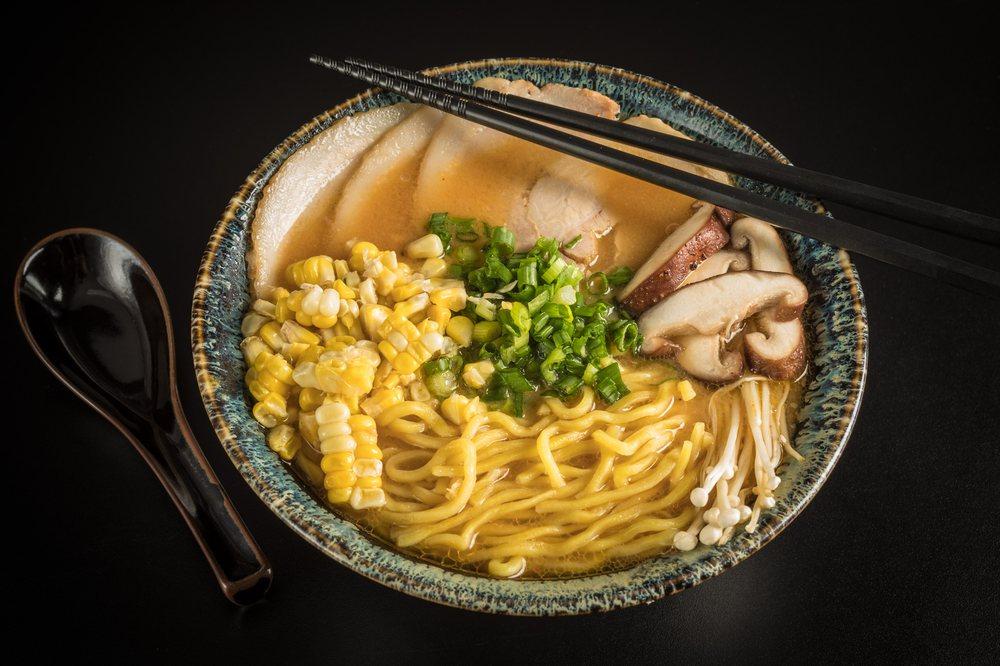 Food from Doragon Ramen