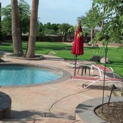 Photo Of Artesian Pools And Spas Yuma Az United States Stamped Concrete