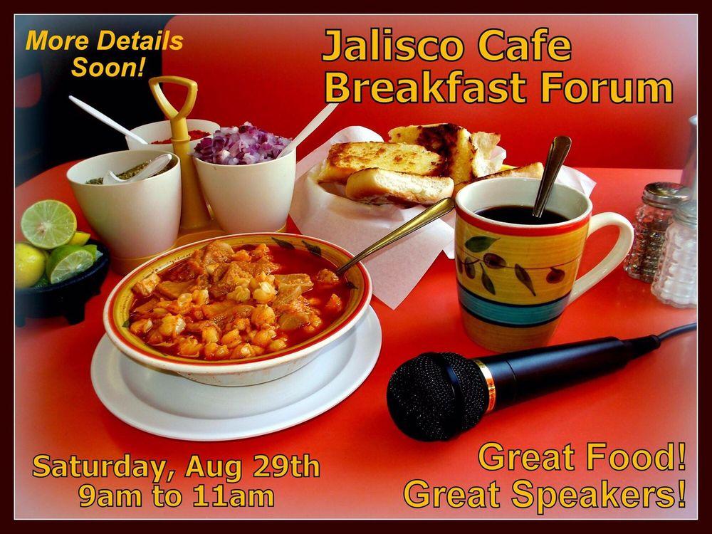 Jalisco Cafe: 1029 E 7th Ave, El Paso, TX