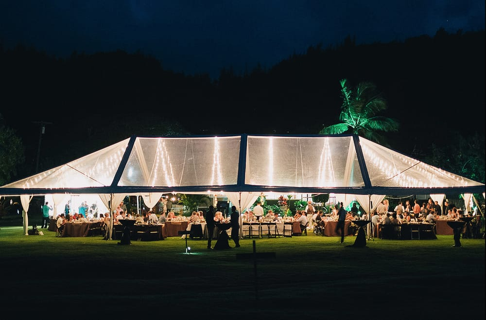 Clear Top Tent With Cafe Lights Yelp