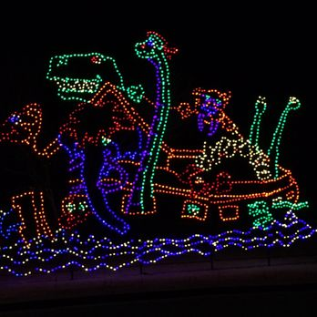 Yukon Ok Christmas Lights.Christmas In The Park 400 442 W Vandament Ave Yukon Ok