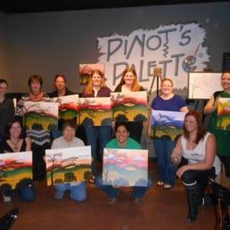 Pinot s palette 40 fotos e 37 avalia es aulas de arte for Sip and paint houston