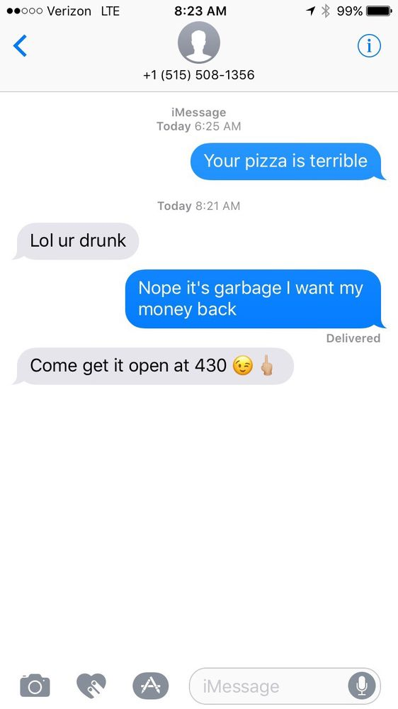 Jolly Roger Pizza: 810 C Ave, Vinton, IA