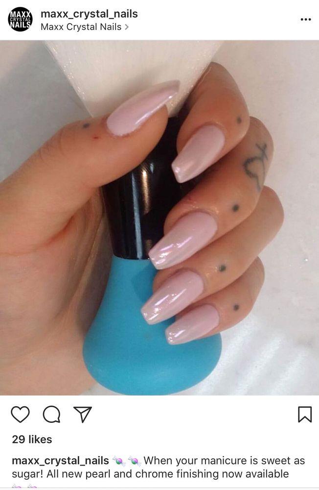 Nails had been done at Maxx Crystal Nails salon - Yelp
