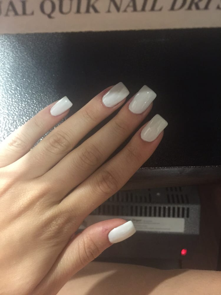 Li did my acrylic nails the best yelp for Acrylic nail salon nyc