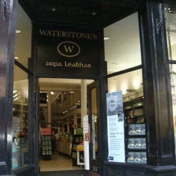 Waterstones Closed Book Shops 7 Dawson Street South Inner