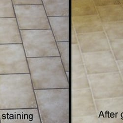 Photo Of Floor Re Aiken Sc United States Grout Staining And Sealing
