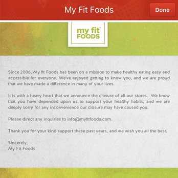 My Fit Foods Studio City Ca