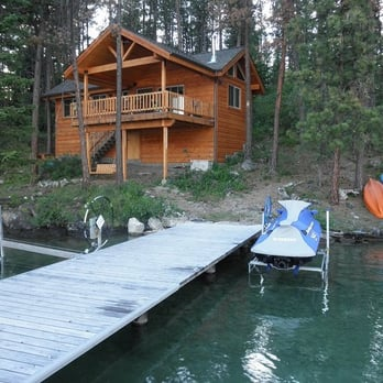 Swan Hill Bed And Breakfast Lake Cabin Bed Breakfast 39407 Kings Point Rd Polson Mt