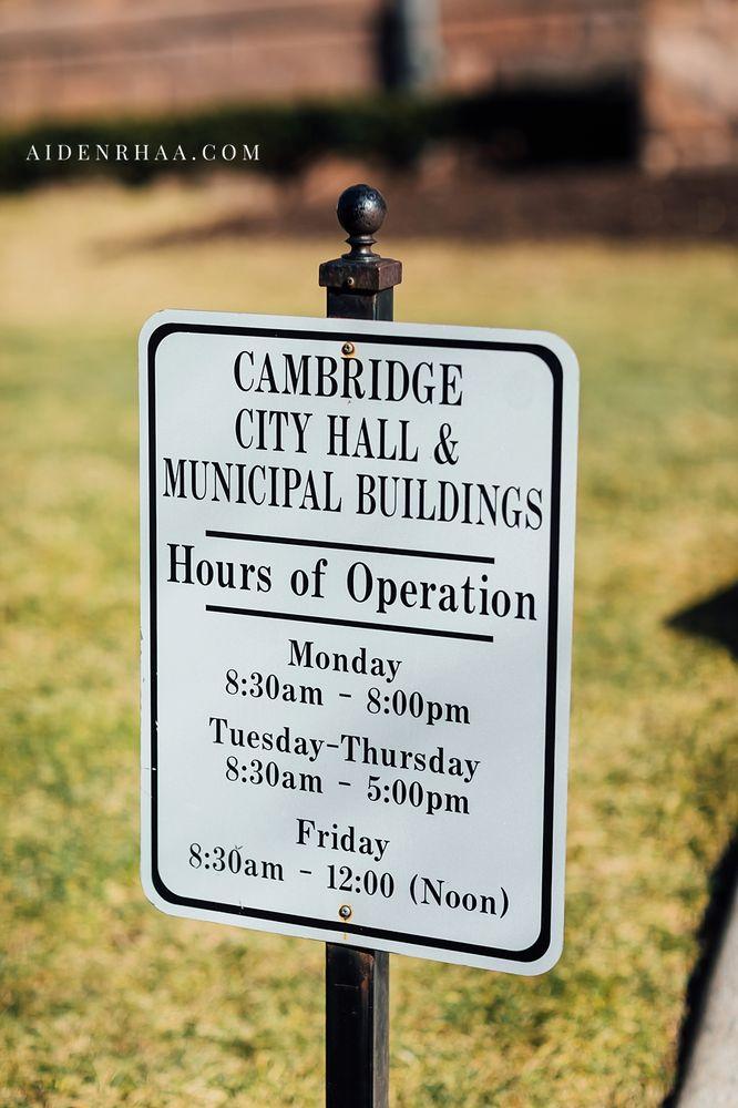 Cambridge City Hall: 795 Massachusetts Ave, Cambridge, MA