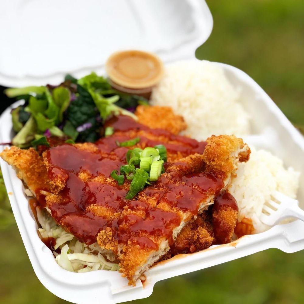 Pineapple Express Hawaiian Food Truck: 744 Redwood Dr, Garberville, CA