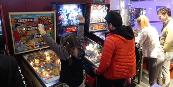 Modern Pinball NYC Arcade, Party Place & Museum: 362 3rd Ave, New York, NY