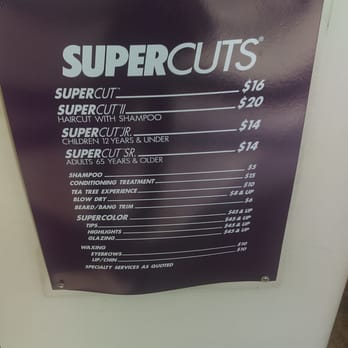 haircut prices supercuts supercuts 26 photos amp 41 reviews hair salons 609 6276 | 348s