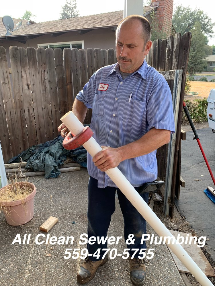 All clean sewer & plumbing