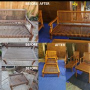 Water Damage Recovery   Photo Of Furniture Medic   Houston, TX, United  States. Outdoor Furniture Refinished