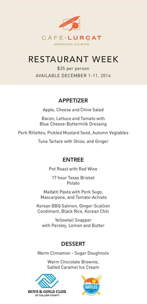 Photos for naples restaurant week yelp for Odette s restaurant month