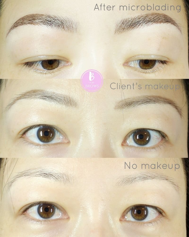 Microblading Eyebrow Tattoo Is Great For Those With Active