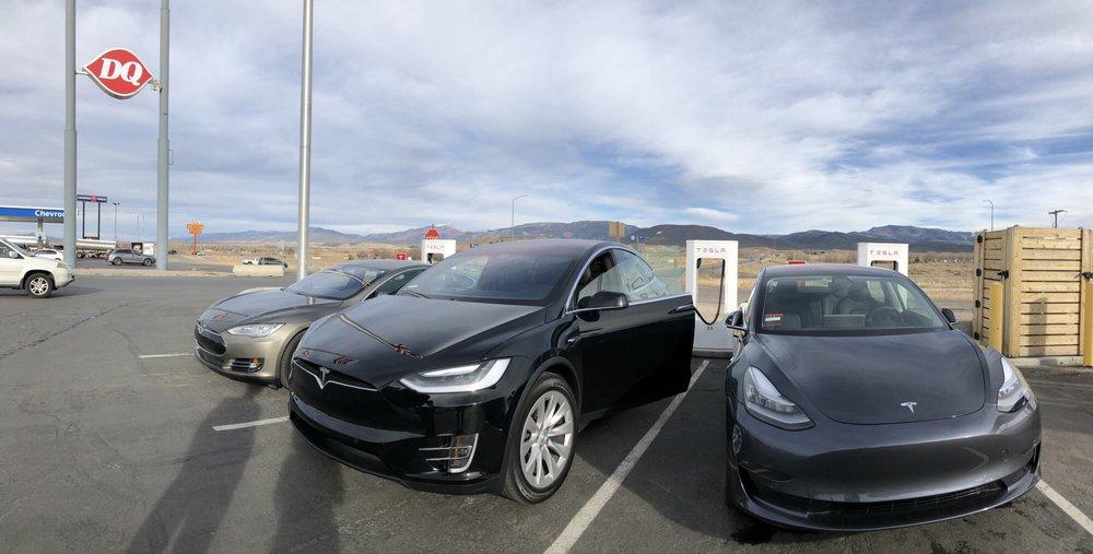Tesla Supercharger: 2080 525th W, Beaver, UT