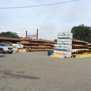 Photo Of Jaeger Lumber Madison Nj United States Huge Yard Out Back