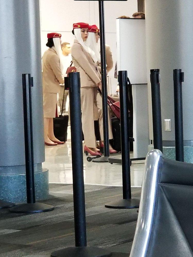 Emirates: 3700 N Terminal Rd, Houston, TX