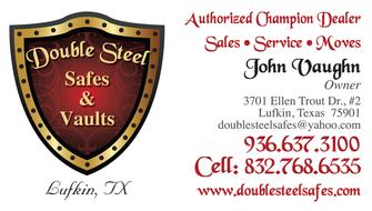 Double Steel Safes & Vaults: 3701 Ellen Trout Dr, Lufkin, TX
