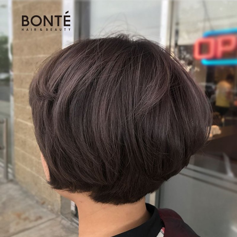 Ash Violet Color And Bob Style Haircut By Annie Yelp