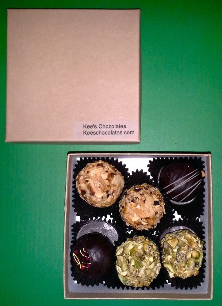 At Kee's we use the freshest ingredients - Kee's Chocolates