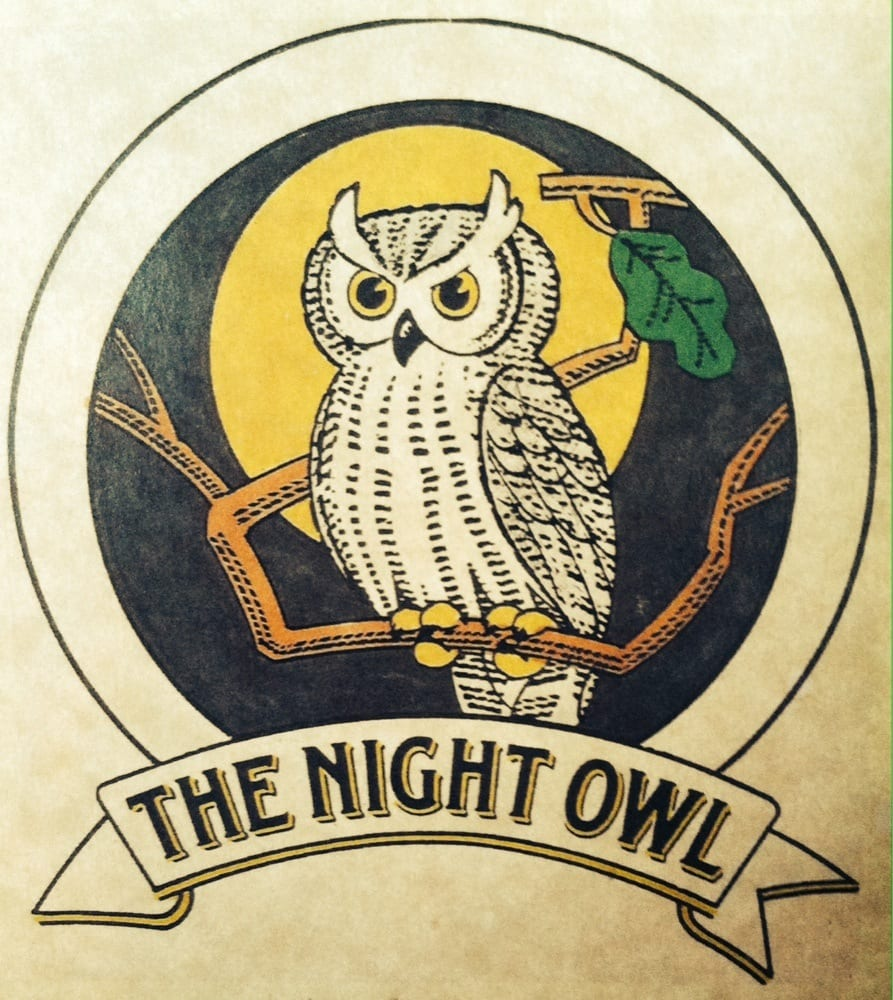 The Night Owl Food and Spirits: 189 E Main St, Evansville, WI