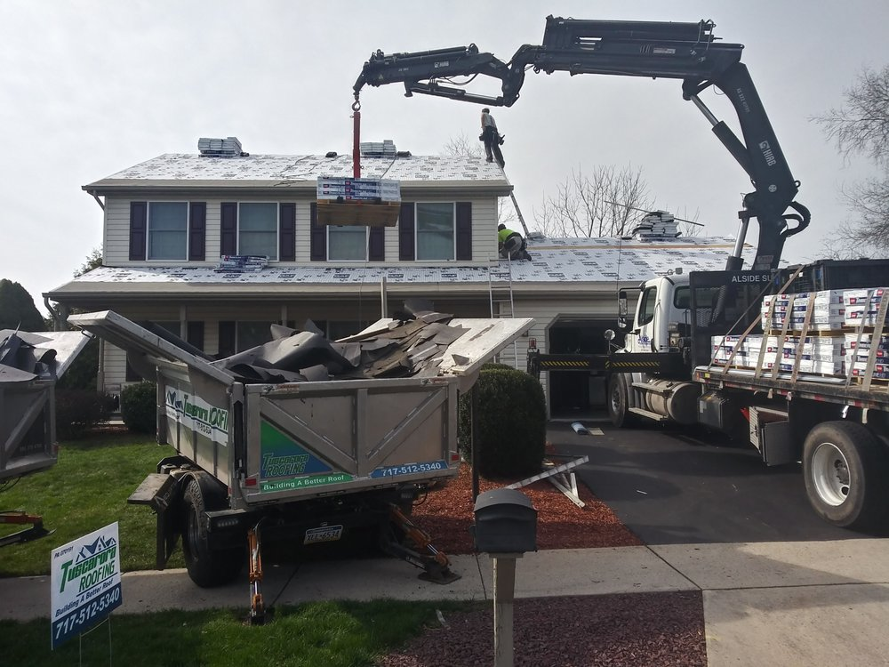 Tuscarora Roofing: 825 Conococheague Rd, Blain, PA