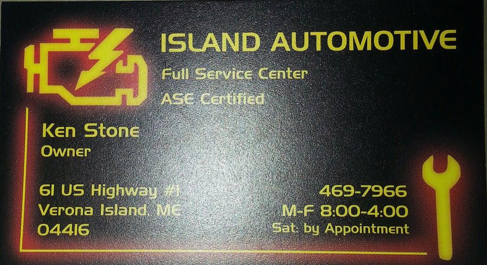 Island Automotive: 61 US Highway 1, Verona Island, ME