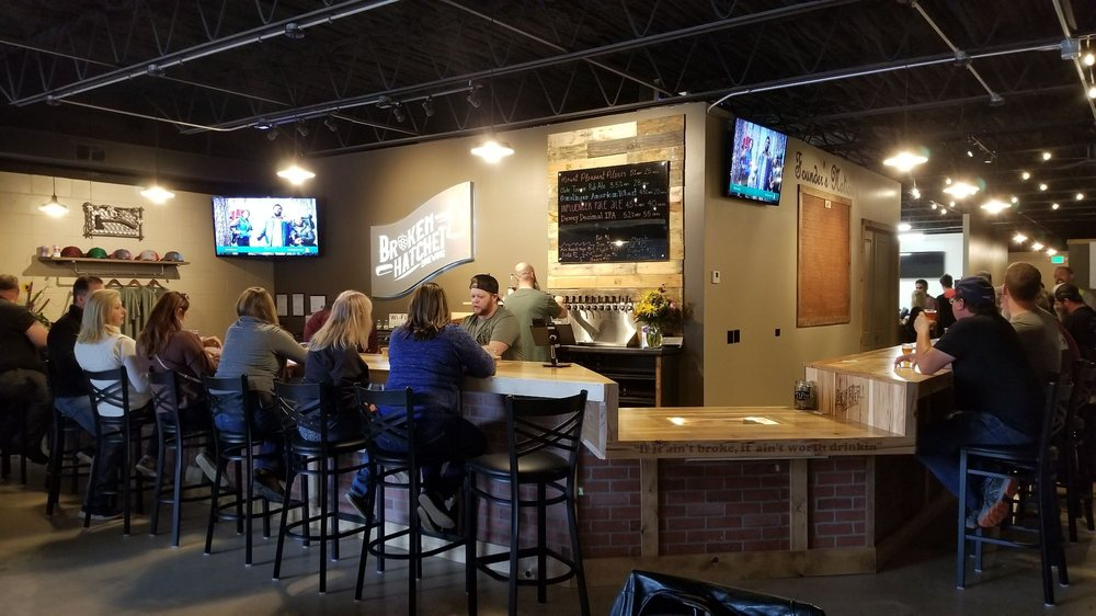 Broken Hatchet Brewery: 422 Main St, Belton, MO