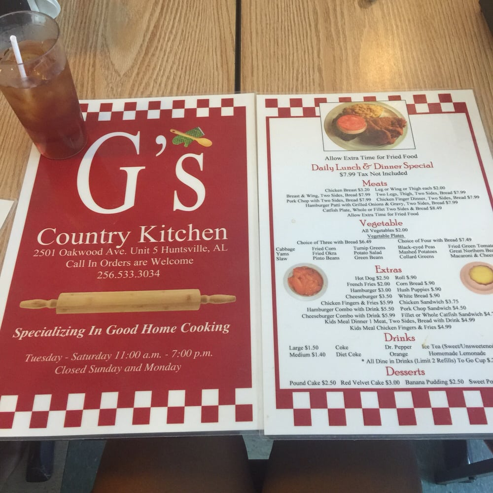 G's Kitchen Huntsville Al