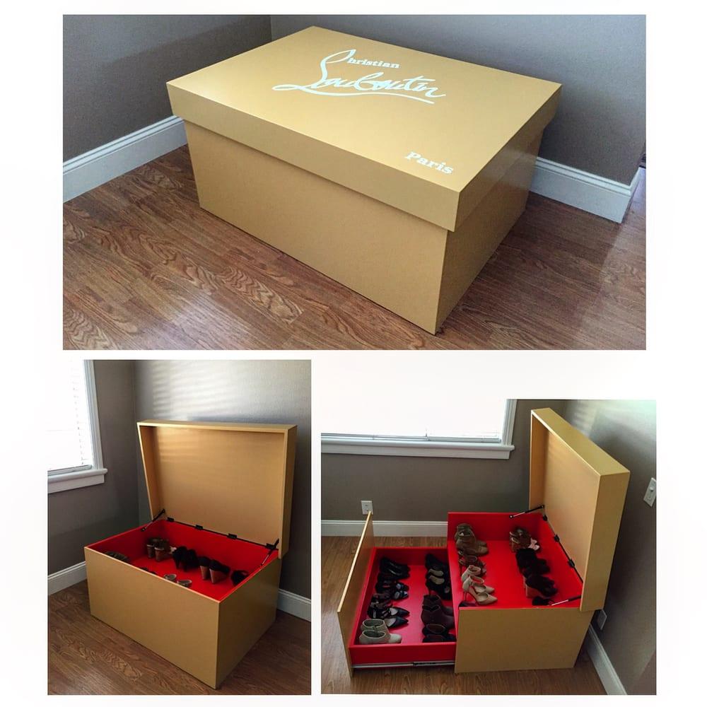 46aa55df99a Giant Christian Louboutin shoe box - Yelp