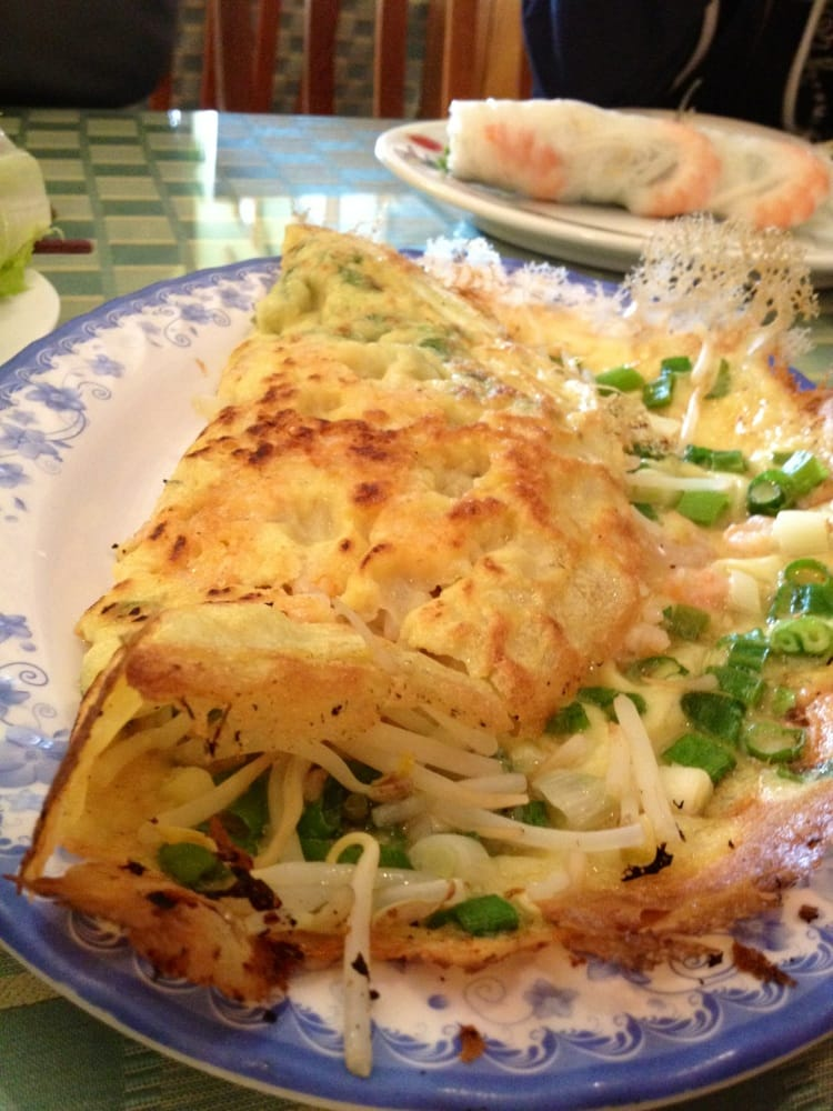how to say banh xeo in english