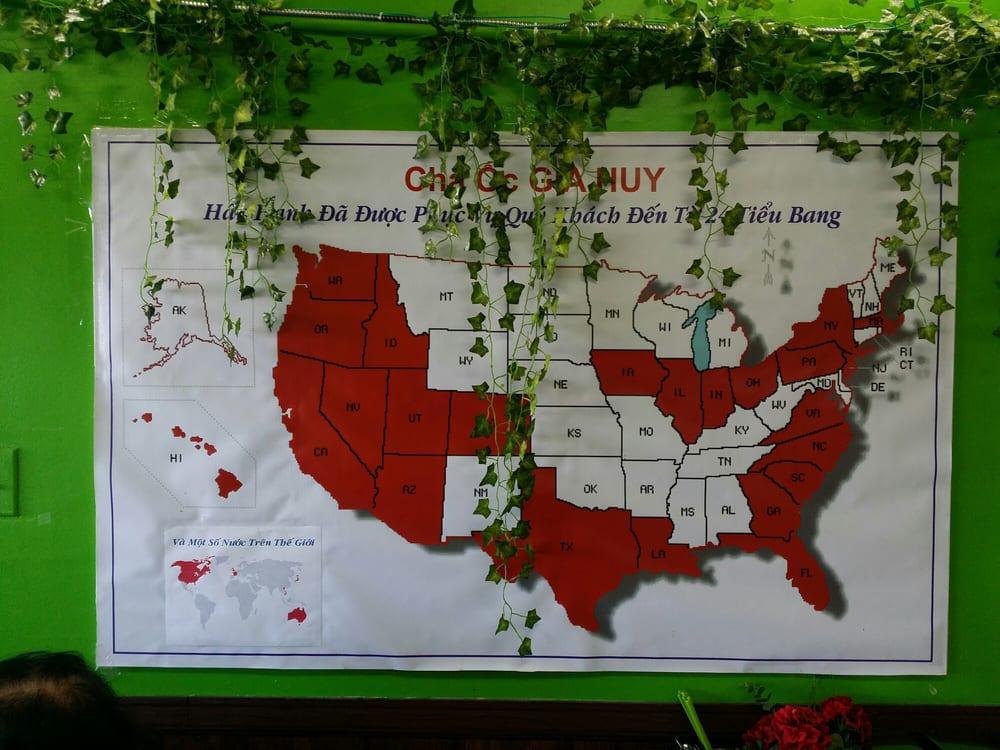 US Map Yelp