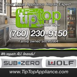 Tip Top Appliance Repair - Carlsbad, CA - 2019 All You Need