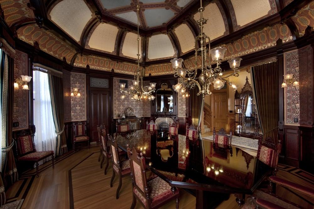 dining room, mcdonald mansion, santa rosa ca - yelp