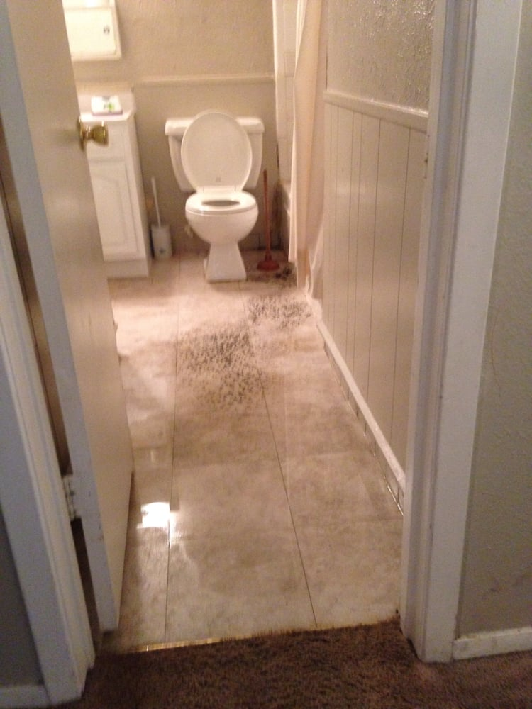 High Quality Photo Of Cavender Manor   Hurst, TX, United States. Bathroom Floor Flooded  Due