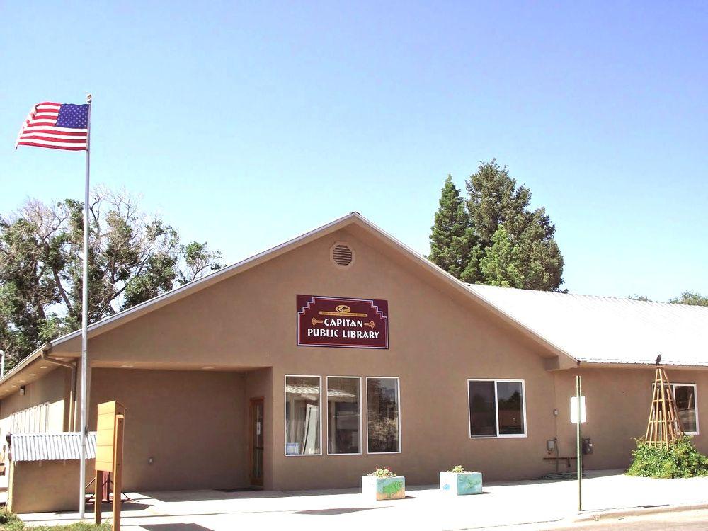Capitan Public Library: 102 E 2nd St, Capitan, NM