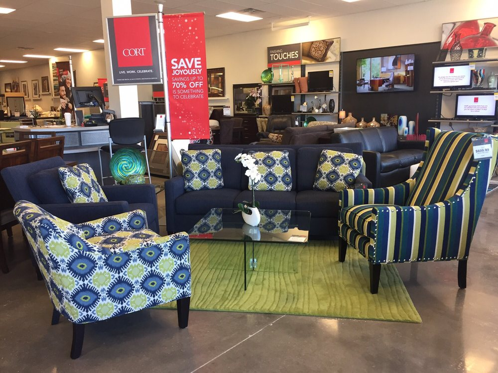 Designer looks at a great value yelp for Cort furniture clearance