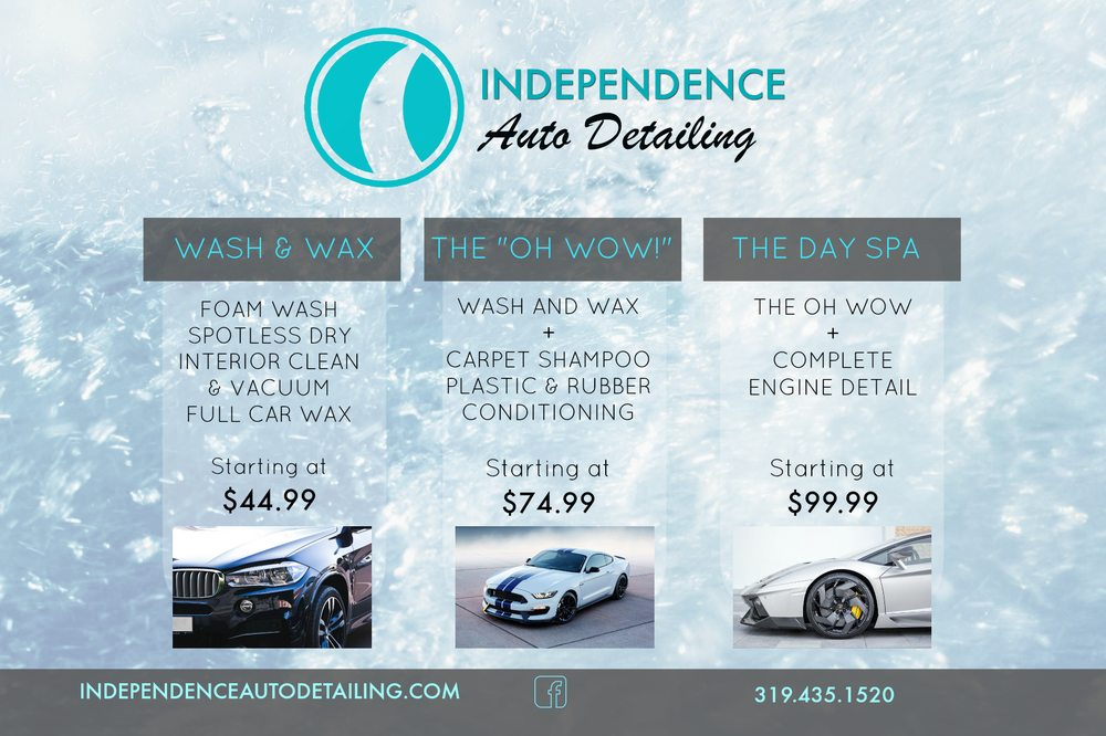Independence Auto Detailing: 218 3rd Ave Ne, Independence, IA