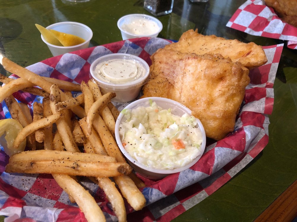 Scalawags White Fish: 226 E Central Ave, Mackinaw City, MI