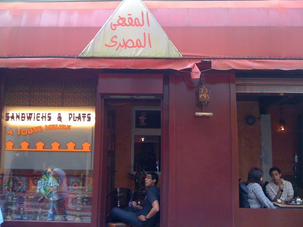 Le caf egyptien 12 avis salons de th 112 rue for Salon egyptien